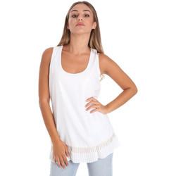 Vêtements Femme Tops / Blouses Fracomina FR20SM014 Blanc