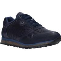 Chaussures Homme Baskets basses Exton 340 Bleu