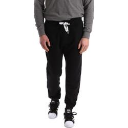 Vêtements Homme Pantalons de survêtement Key Up 2F37I 0001 Noir