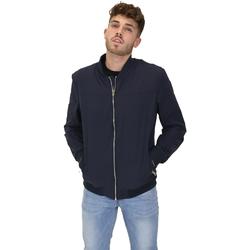 Vêtements Homme Blousons Les Copains 9UB081 Bleu
