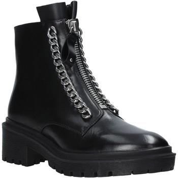 Chaussures Femme Boots Apepazza F0COMBAT10/LEA Noir