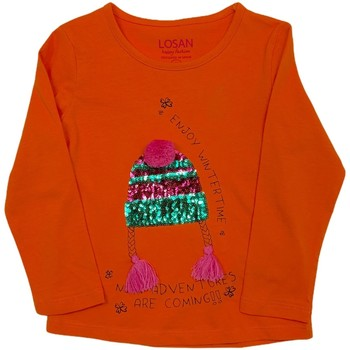 Vêtements Enfant T-shirts manches longues Losan 026-1201AL Orange