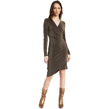 Vêtements Femme Robes courtes Gaudi 021FD14003 Or