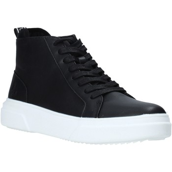 Chaussures Homme Baskets montantes Rocco Barocco RB-HOWIE-1401 Noir