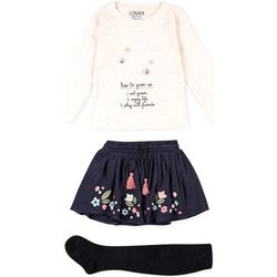 Vêtements Enfant Ensembles enfant Losan 026-8016AL Beige