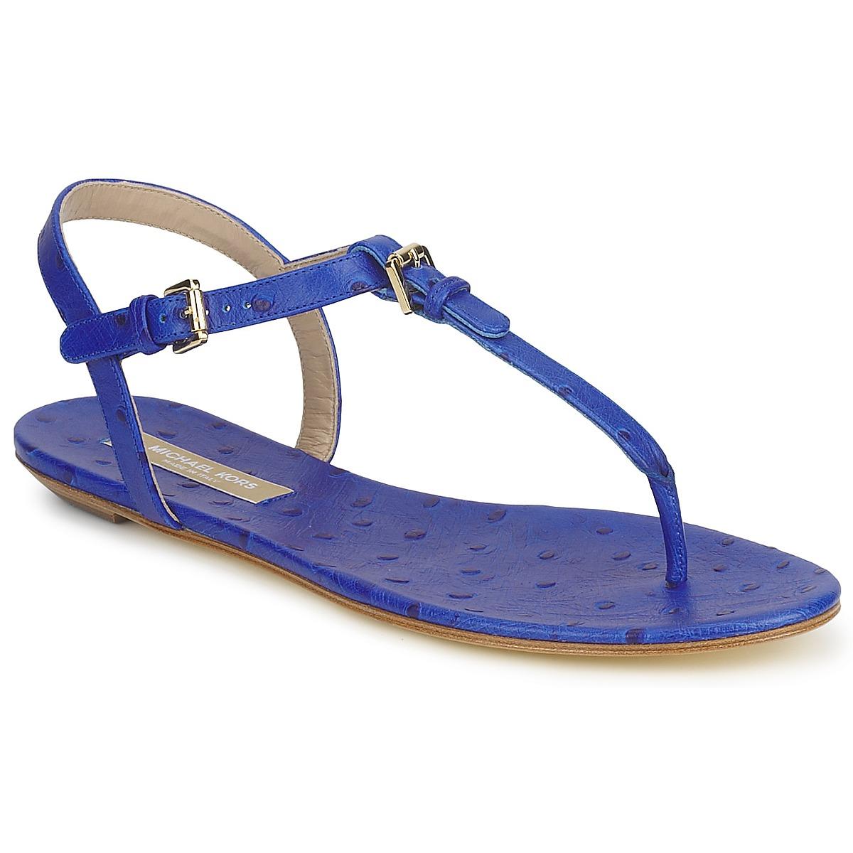 Sandale Michael Kors FOULARD Bleu