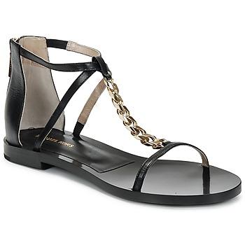 Chaussures Femme Sandales et Nu-pieds Michael Kors ECO LUX Noir