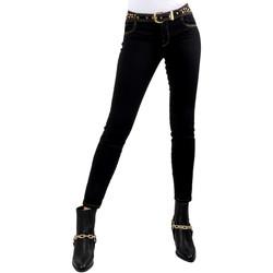 Vêtements Femme Jeans slim Versace A1HVB02HAPV4P899 Noir