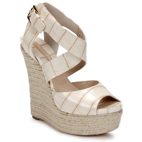 Chaussures Femme Sandales et Nu-pieds Michael Kors STAMPA IBRAHIM Crème