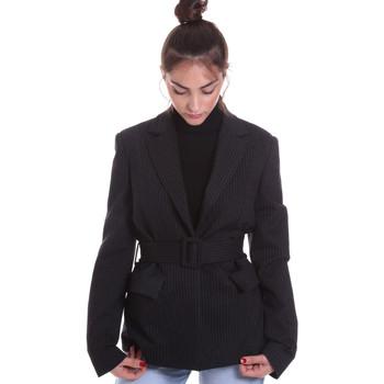 Vêtements Femme Vestes / Blazers Fracomina F120W07022W040D4 Noir