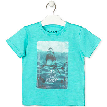 Vêtements Enfant T-shirts manches courtes Losan 015-1018AL Vert