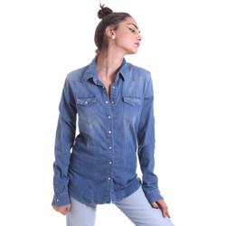 Vêtements Femme Chemises / Chemisiers Fornarina BE174577D884AS Bleu