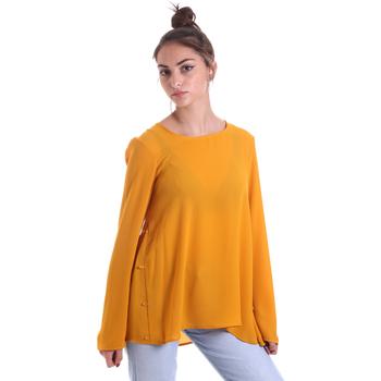 Vêtements Femme Tops / Blouses Fracomina F120W19008W00401 Jaune