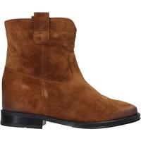 Chaussures Femme Boots Pregunta MAA3307 Marron