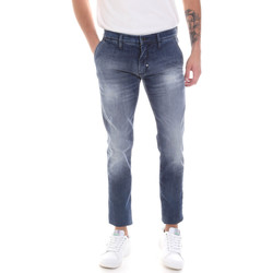 Vêtements Homme Jeans slim Antony Morato MMDT00249 FA750263 Bleu