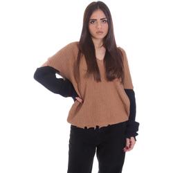 Vêtements Femme Pulls P-Jean 1X109Q Y4ZX Beige
