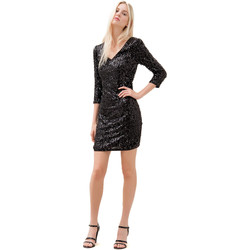Vêtements Femme Robes courtes Fracomina F120W14034W01985 Noir