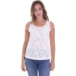 Vêtements Femme Tops / Blouses Fornarina BE175J89JG1309 Blanc
