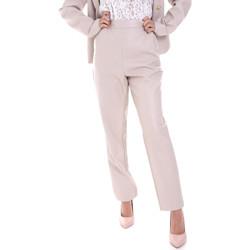 Vêtements Femme Chinos / Carrots Fracomina F120W10062E00701 Beige