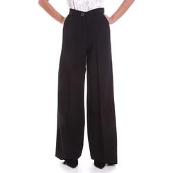 Vêtements Femme Pantalons fluides / Sarouels Fracomina F120W10069W05301 Noir