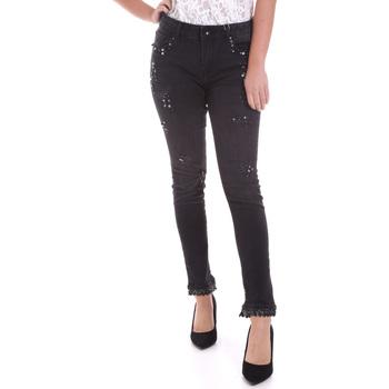 Vêtements Femme Jeans slim Fracomina F120W10002D00304 Noir