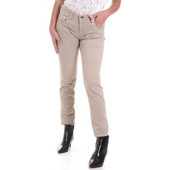 Vêtements Femme Pantalons 5 poches Gaudi 821BD25025 Beige