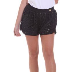 Vêtements Femme Shorts / Bermudas Fornarina BE171M03H26400 Noir