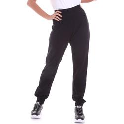 Vêtements Femme Pantalons Key Up 5FI47 0001 Noir