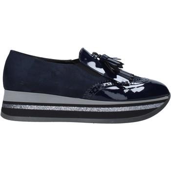 Chaussures Femme Mocassins Grace Shoes GLAM004 Bleu