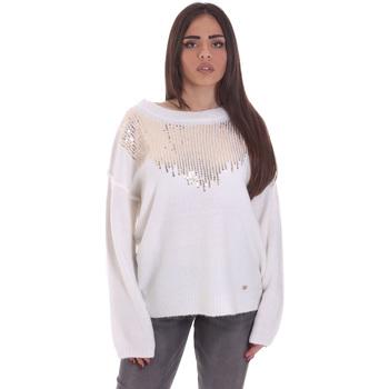 Vêtements Femme Pulls Gaudi 021BD53044 Blanc