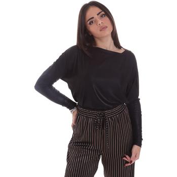 Vêtements Femme T-shirts manches longues Gaudi 021FD64014 Noir