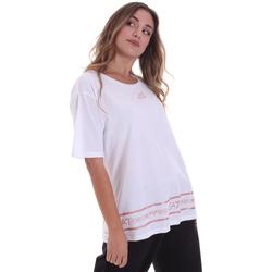 Vêtements Femme T-shirts manches courtes Ea7 Emporio Armani 6HTT32 TJ52Z Blanc
