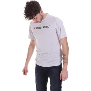 Vêtements Homme T-shirts manches courtes Tommy Hilfiger S20S200357 Gris
