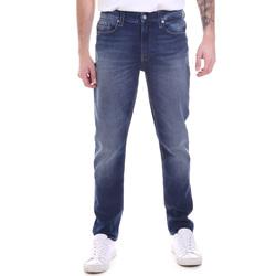 Vêtements Homme Jeans droit Calvin Klein Jeans K10K106200 Bleu