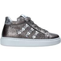 Chaussures Enfant Baskets montantes NeroGiardini I021543F Argent