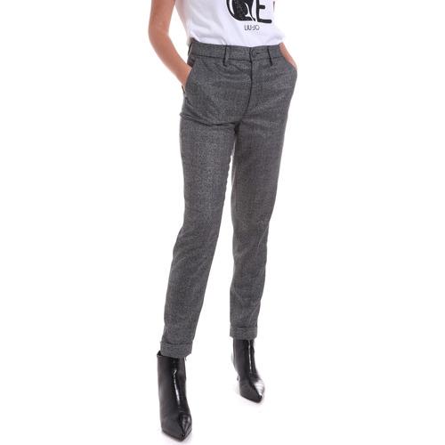 Vêtements Femme Chinos / Carrots Liu Jo WF0463 T4523 Gris
