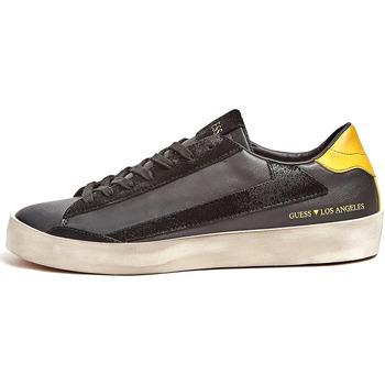 Chaussures Homme Baskets mode Guess FM7FIR ELE12 Noir