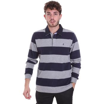 Vêtements Homme Polos manches longues Navigare NV30029 Bleu