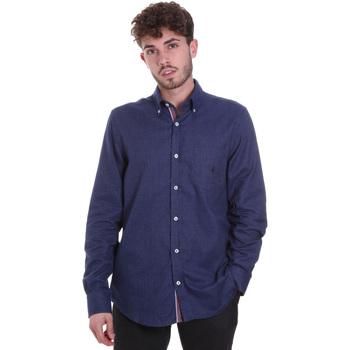 Vêtements Homme Chemises manches longues Navigare NV91135 BD Bleu