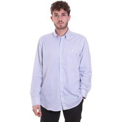 Vêtements Homme Chemises manches longues Navigare NV91111 BD Bleu