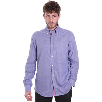 Vêtements Homme Chemises manches longues Navigare NV91133 BD Bleu