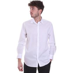 Vêtements Homme Chemises manches longues Sseinse CI543SS Blanc