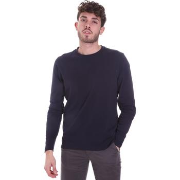 Vêtements Homme T-shirts manches longues Sseinse MI1691SS Bleu