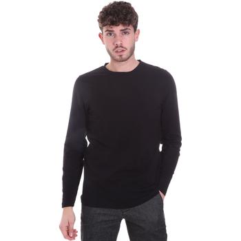 Vêtements Homme T-shirts manches longues Sseinse MI1691SS Noir