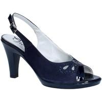 Chaussures Femme Escarpins Grace Shoes E8174 Bleu
