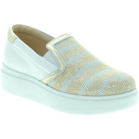 Chaussures Femme Slip ons Exton E02 Blanc