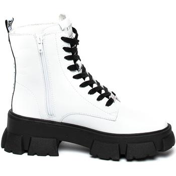 Chaussures Femme Boots Steve Madden SMSTANKER-WHTLEA Blanc