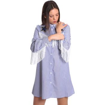 Vêtements Femme Robes courtes Denny Rose 811DD10018 Bleu