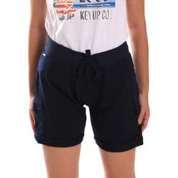 Vêtements Femme Shorts / Bermudas Key Up 5G75F 0001 Bleu