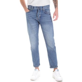 Vêtements Homme Jeans droit Antony Morato MMDT00226 FA700111 Bleu